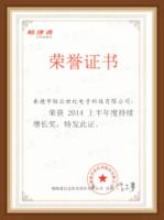 2014年荣誉